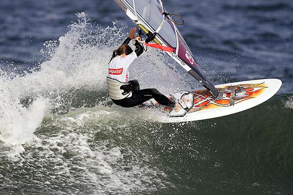 Steffi Wahl triumphiert beim Surf World Cup auf Sylt Foto: Veranstalter