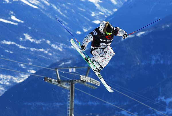 Freeskiing ist seit 2007 neue Disziplin bei den Champs Open Foto: Arnaud Derib