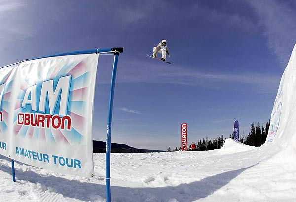 Die Burton AM Tour startet in Holland. Foto: Adam Martell