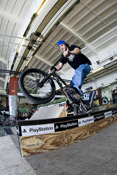 BMX Action in Wuppertal bei der Playstation The Champ Series in Wuppertal Foto: eyes wide open