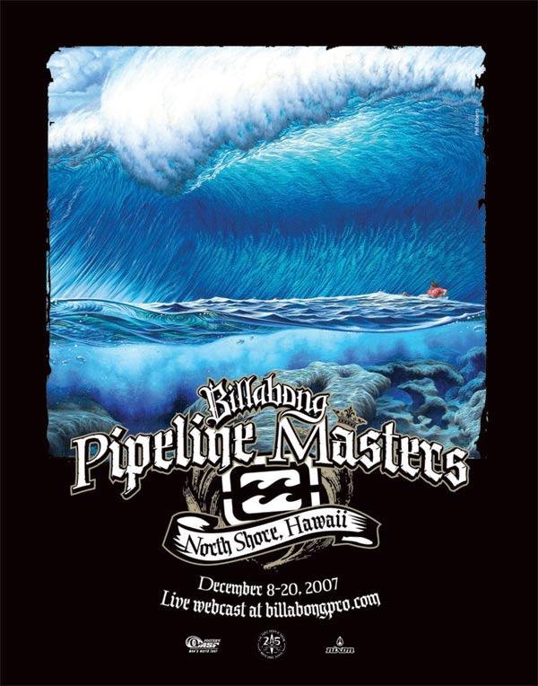Die Pipeline Masters sind das letzte Event im Rahmen der diesjährigen Weltmeisterschaft im Wellenreiten