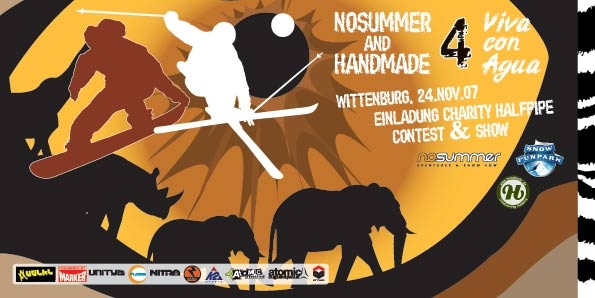Charity Halfpipe Contest in Wittenburg