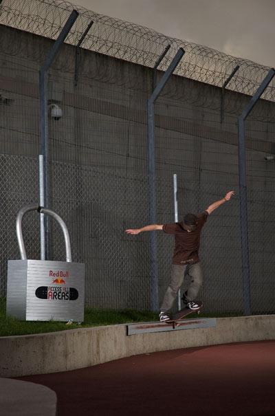 Reini Rietsch hinter Gittern Foto: Stefan Eigner