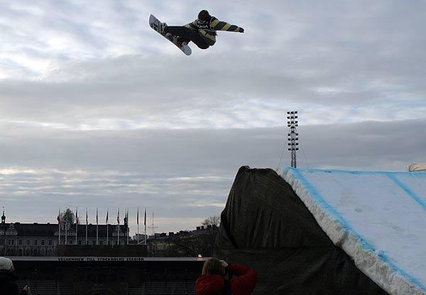 War mit seiner Leistung nicht zufrieden: Risto Mattila in Stockholm Foto: Oliver Kraus, FIS