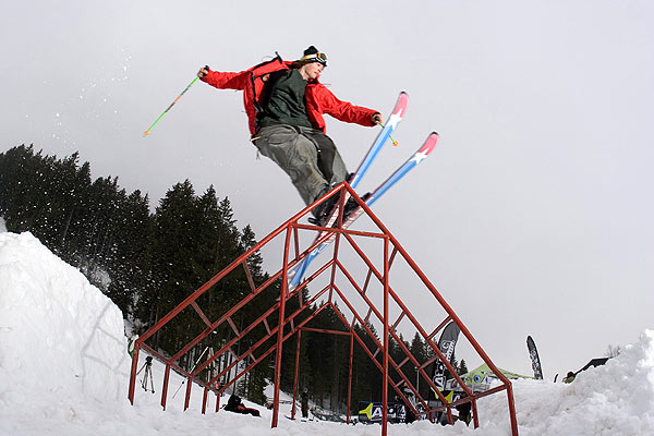 Roy Kittler beim New School Gathering in Schladming.  Foto: Andreas Halser, QParks