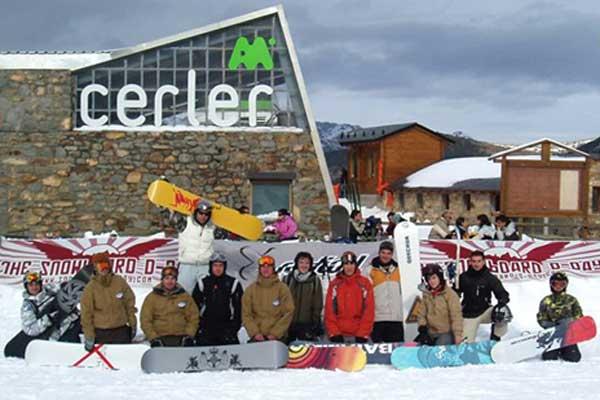 Snowboarder beim Snowboard-Day 2006 Foto: worldsnowboardday.com