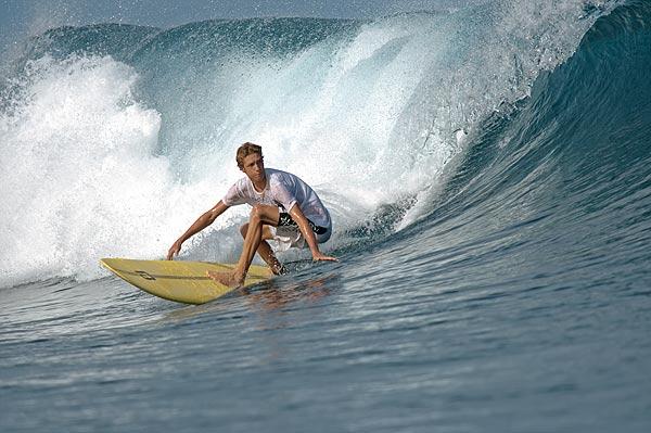 In der Schule Wellenreiten lernen.  Foto: Choppy Water