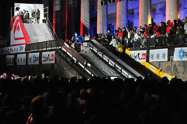 Quiksilver Das Rail in München am Haus der Kunst.  Foto: eyes wide open