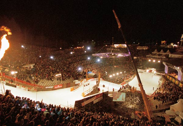 Archivbild: Air & Style in Innsbruck.  Foto: Mark Landwehr
