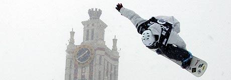 Der Snowboard Worldcup kommt wieder nach Moskau.  Foto: Oliver Kraus