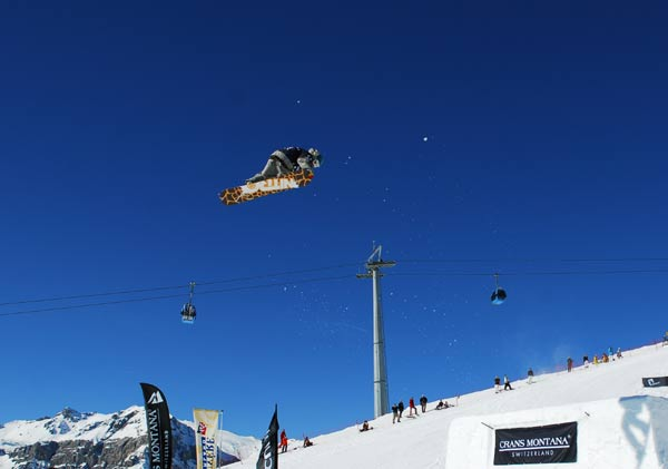 Der Finne Jaakko Ruha siegte in Crans Montana.   Foto: Fabrice Borgazzi