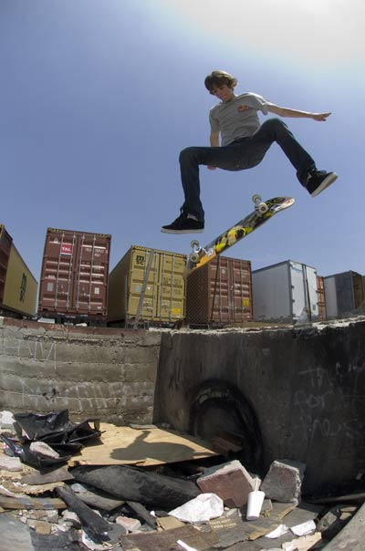 Fotoshooting mit Ryan Sheckler in Südkalifornien.  Foto: Lance Dawes