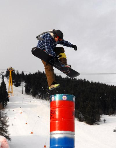 Snowboarder beim Inferno Ost 2008.  Foto: Inferno Ost