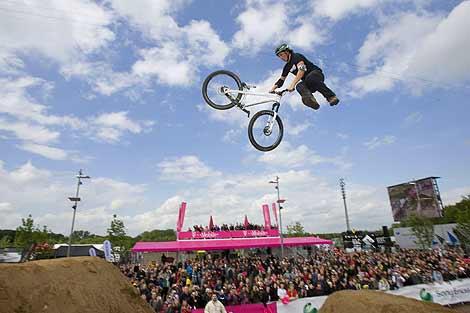 Die Extreme Playgrounds starten in diesem Jahr mit der Dirt Session für BMXer und Mountainbiker.  Foto: Veranstalter