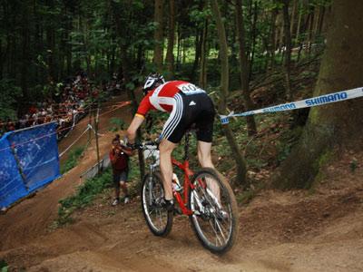 Rider beim UCI Mountainbike Weltcup Offenbach Foto: Veranstalter