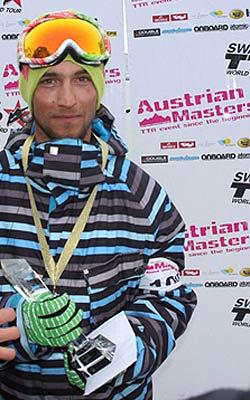 Sieger der Austrian Masters 2008: Partik Huber Foto: TTR