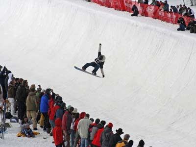 Die Superpipe im Park City Mountain Resort  Foto: TTR
