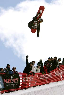 World Superpipe Championships in Park City Utah USA Foto: TTR