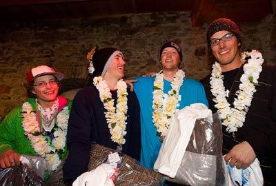Team Adelboden - Sieger der Snowpark Tour 2008 Foto: Veranstalter