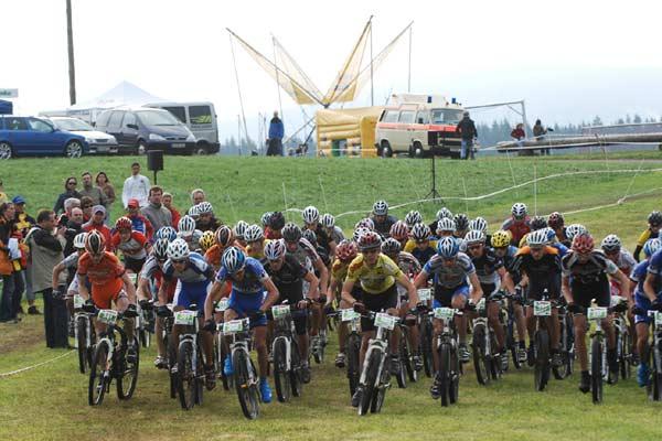 Deutsche Mountainbike Meisterschaften 2008.  Foto: Veranstalter