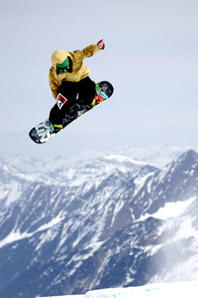 Snowboard- & Freeski Action beim Stubai Jam 2008. Foto: Andi Mayr
