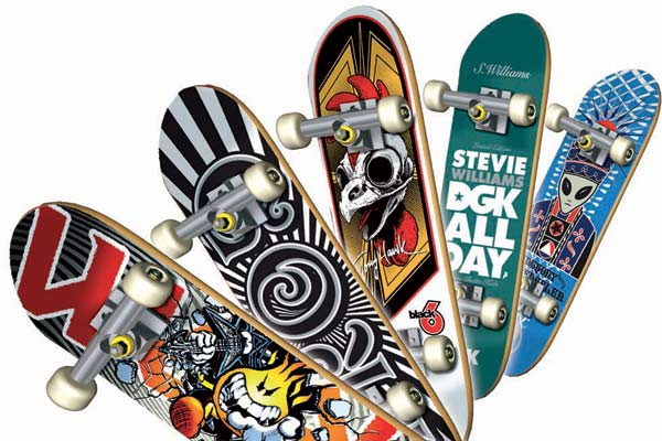 Fingerboards 2008. Foto: Tech Deck