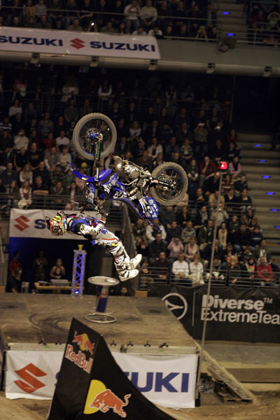 Massimo Bianconcini bei der Night of the Jumps in Berlin.  Foto: Oliver Franke, IFMXF.com