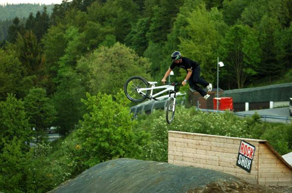 Rider Pierre Grawitter.  Foto: Martin Donat