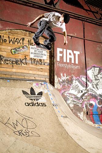 adidas Skateboard Chalsh.  Foto: Veranstalter