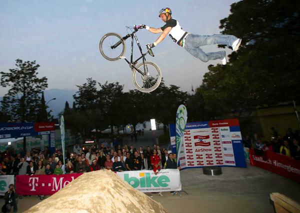 Dirtjumper feiern Premiere beim Bike Festival Garda Trentino.  Foto: Veranstalter