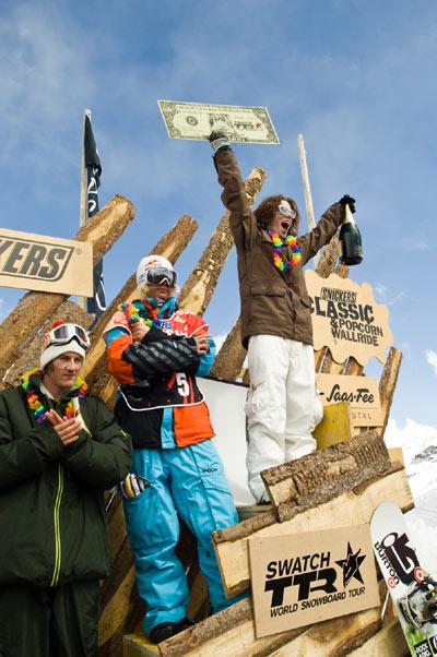Die Sieger von Saas-Fee.  Foto: andrekremmer.com