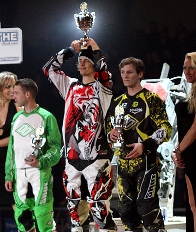 Die Gewinner der Night of the Jumps in Graz.  Foto: IFMXF.com