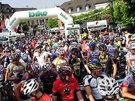 Bike Trans Germany 2008.  Foto: Veranstalter