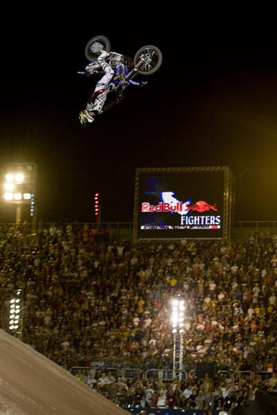 Jeremy Stenberg gewann die Red Bull X-Fighters in Rio de Janeiro.  Foto: Flo Hagena