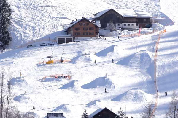 Crystal Ground Snowpark Kleinwalsertal.  Foto: Marco Heim