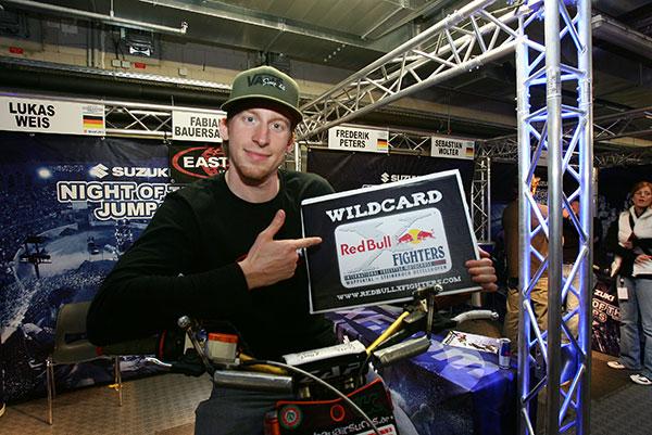 Wildcard-Gewinner Fabian Bauersachs.  Foto: Red Bull Deutschland