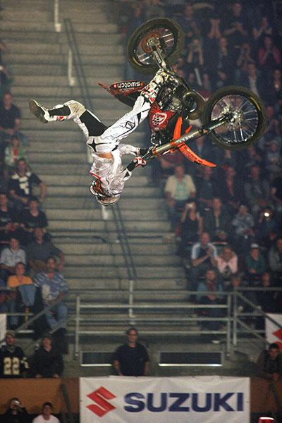 Freestyle MX World Championships 2008 in Basel.  Foto: Oliver Franke.