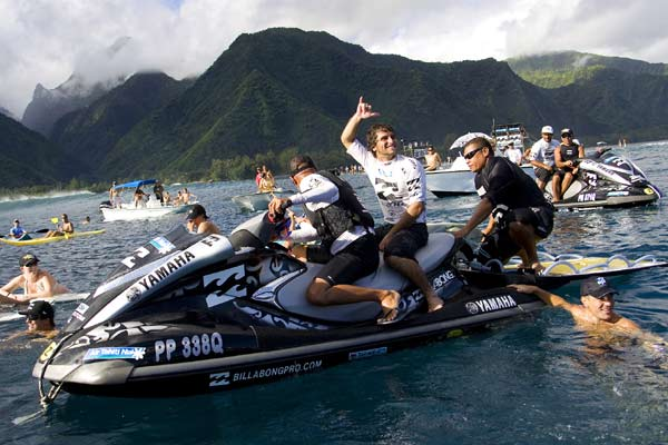 Billabong Pro Tahiti.  Foto: ASP Kirstin.