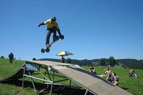 Mountainboard.  Foto: Veranstalter