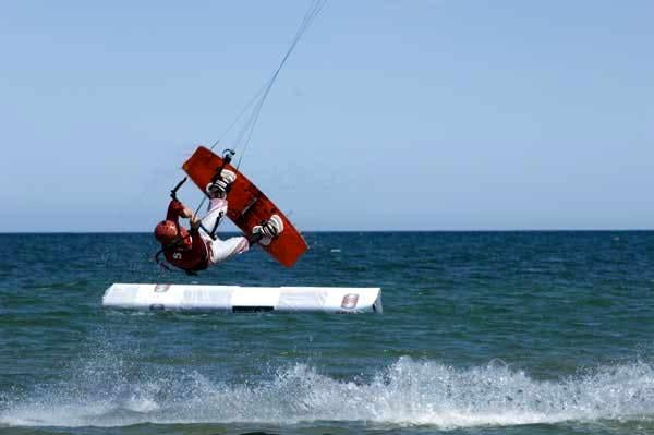 Kitesurf-Trophy Dahme.  Foto: Veranstalter