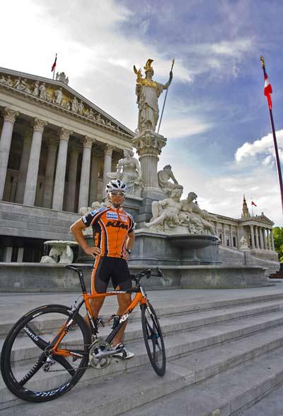Extremmountainbiker Gerhard Gulewicz.  Foto: Martin Steiger/sportbild.at