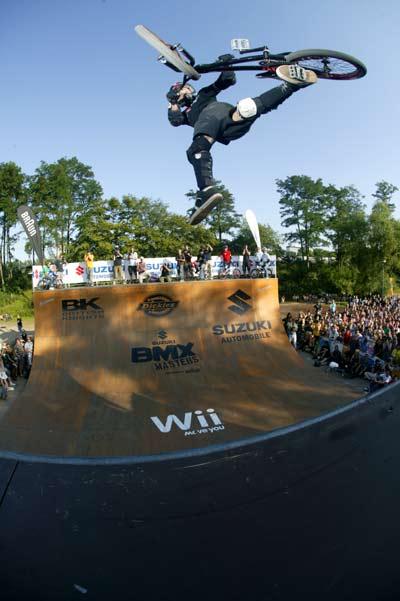 Matt Hoffman bei den BMX-Masters.  Foto: spielbetrieb/woodagephoto