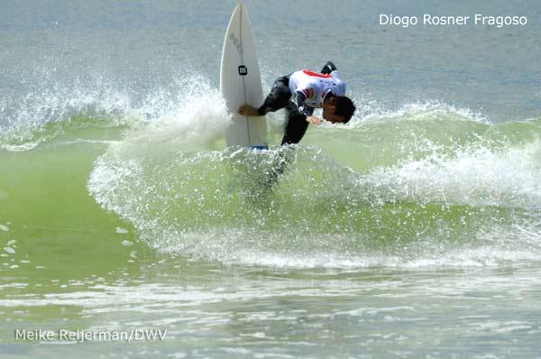 Teammitglied  des DWV Diogo Rosner Fragoso.  Foto: Meike Reijerman