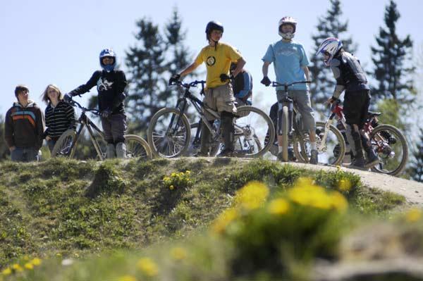 Freerider im Bikepark Winterberg.  Foto: Redaktionsbüro/ Susanne Schulten