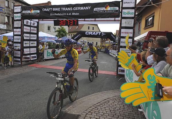 Im Ziel angekommen: Michael Greis.  Foto: Oliver Kraus/ Smaragd Medien GmbH