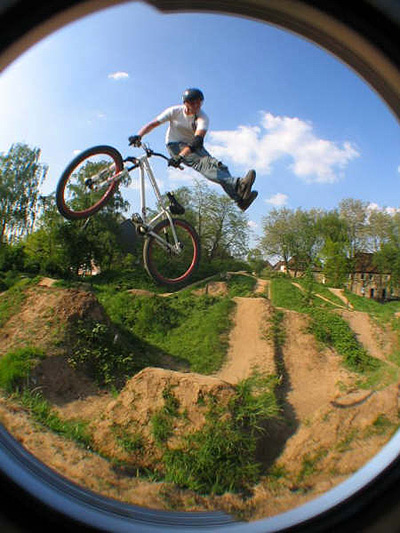 Mountainbiker Niklas Hahn. Foto: privat