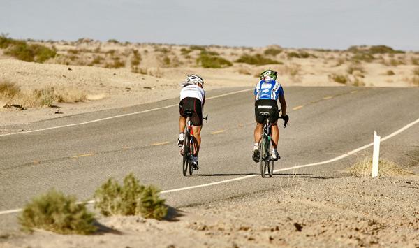 Start des Race across Amerika 2008.  Foto: Werner Ehrenhoefer