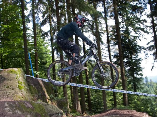 MTB-Rider Thomas Hopbach.  Foto: privat
