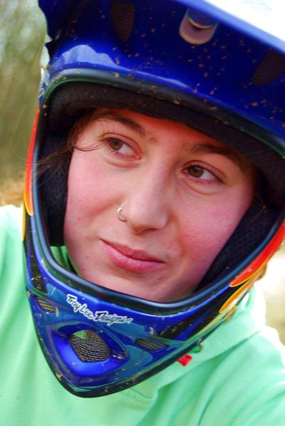 MTB und BMX-Riderin Steffie Teltscher.  Foto: privat