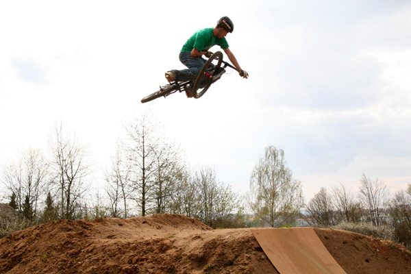 Freerider Dominic Amberger.  Foto: privat